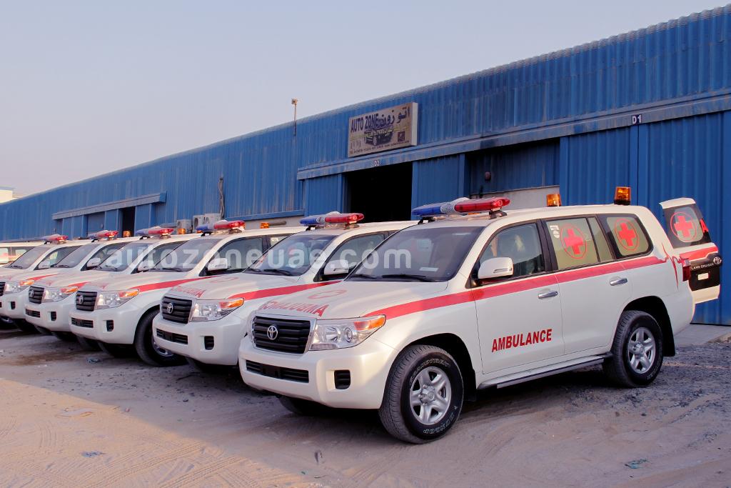 Toyota Land Cruiser 200 Series Gxr Ambulance Autozone Uae