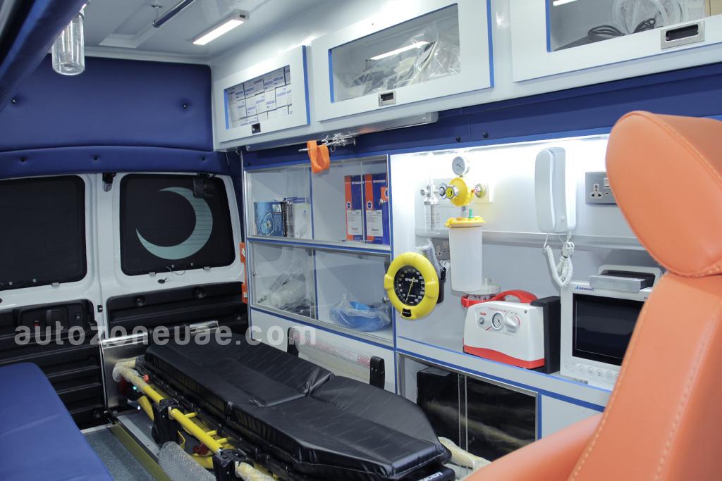 GMC savana Ambulance Type 2 | Autozone Uae