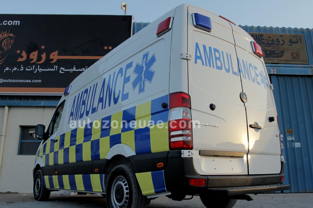 Mercedes Ambulance With two stretcher   Autozone Uae