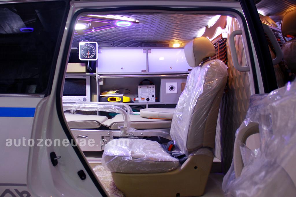 Nissan Patrol Ambulance Y62 4wd Autozone Uae
